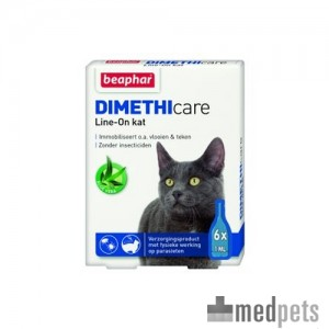 Produktbild von Beaphar DIMETHIcare Line-on Katze