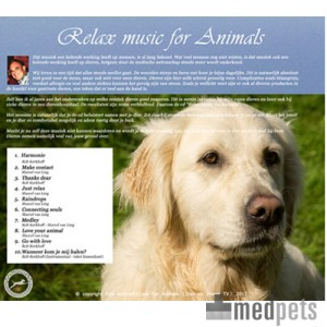 Product afbeelding van CD Relax Music for Animals (and Humans)