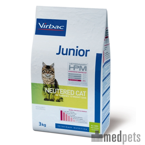 Product afbeelding van HPM Veterinary - Junior Neutered Cat