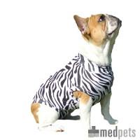 Medical Pet Shirt Hond Zebra Print