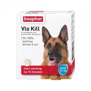 Beaphar Vlo Kill+ - Hond vanaf 11kg - 6 tabletten