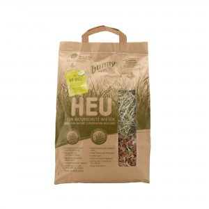 Bunny Nature Hay Nature Conservation Meadows - Organic Apple Pieces - 250 g
