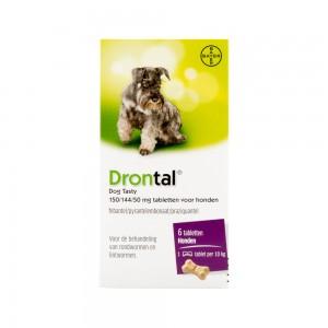 Drontal Dog Tasty 6 tabletten