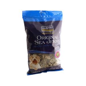 Fish4Dogs Sea Jerky - Squares - 100 gram