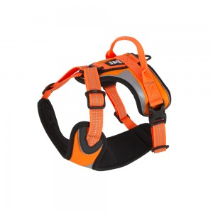 Hurtta Dazzle Harness - Oranje - 40/45 cm