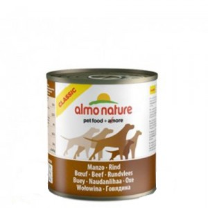 Almo Nature - Classic - Adult dog food - Rund 12x290g