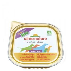Almo Nature Daily Menu BIO Kip-Aardappel 9x300g