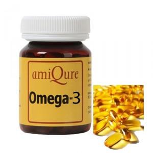 amiQure Omega 3 - 120 capsules