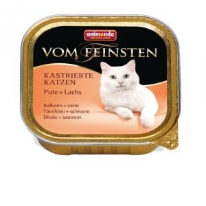 Animonda Vom Feinsten kastr. Katzen - Pute Lach...