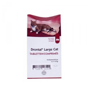 Drontal Large Cat - 1 tablet