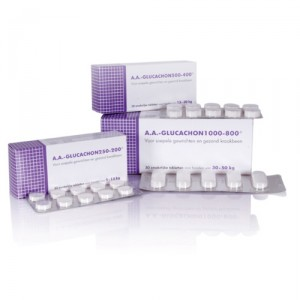 AA Glucachon 1000-800 - 30 tabletten