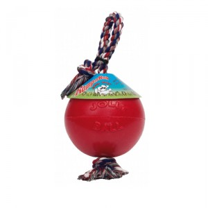 Jolly Romp-n-Roll Small (4 inch) 11 cm rood