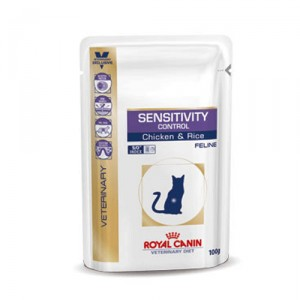 Royal Canin Sensitivity Control kat 48x100g kip (zakjes)