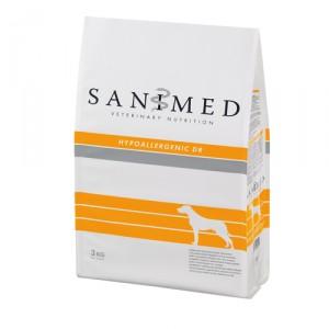 Sanimed Hypoallergenic Dog Eend/rijst 12.5 kg.