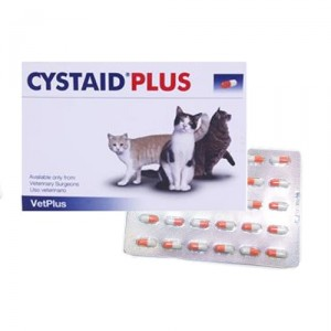Vetplus Cystaid - 30 capsules