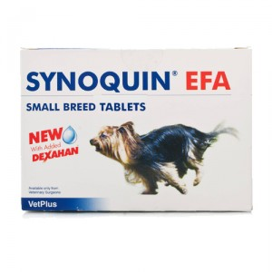 Vetplus Synoquin EFA - Small Breed 90 Tabletten