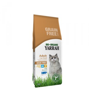 Yarrah - Droogvoer Kat Graanvrij Bio - 800 g