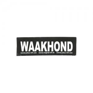 Julius-K9 Labels Groot - Waakhond