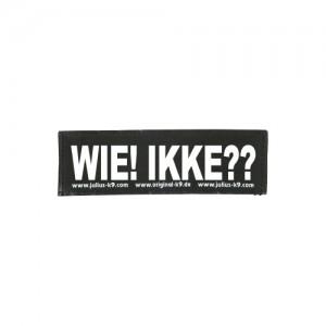 Julius-K9 Labels Groot - Wie! Ikke??