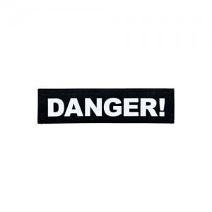Julius-K9 Labels Klein - Danger!
