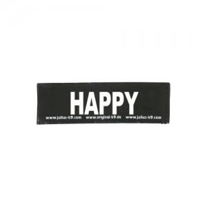 Julius-K9 Labels Klein - Happy