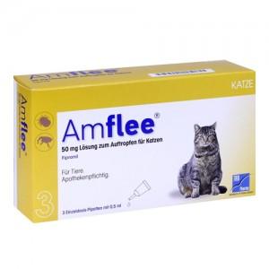 Amflee Spot-on Kat - 3 pipetten