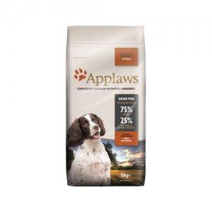 Applaws Dog - Adult Small & Medium - Chicken - 15 kg