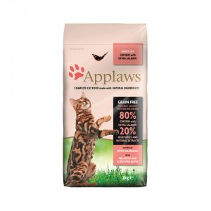 Applaws Cat - Adult - Chicken & Salmon - 2 kg