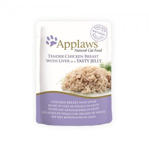 Applaws Cat - Chicken Breast & Liver in Jelly - 16 x 70 g