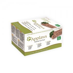 Applaws Cat - Paté with Chicken, Lamb & Salmon Multipack - 7 x 100 g