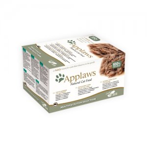 Applaws Cat - Multipack Fish Selection Pots - 8 x 60 g