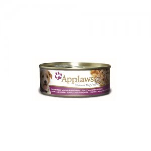 Applaws Dog - Chicken & Ham with Vegetables - 12 x 156 g