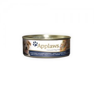 Applaws Dog - Chicken & Salmon with Rice - 12 x 156 g