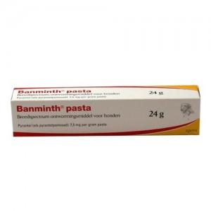 Banminth pasta hond tube 24 gram