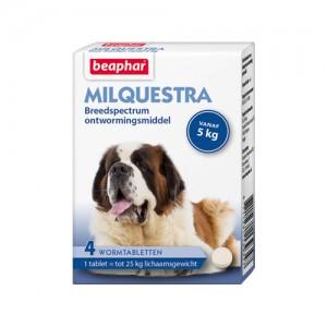 Beaphar Milquestra Grote hond - 4 tabletten