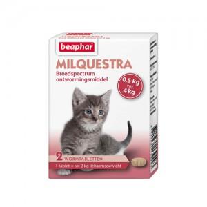 Beaphar Milquestra Kleine kat/kitten - 2 tabletten