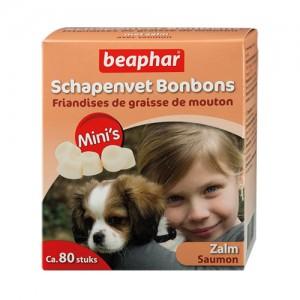 Beaphar Schapenvet Bonbons Zalm Mini - 245 g