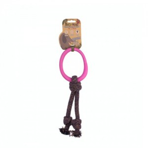 Beco Hoop on Rope Roze - Large