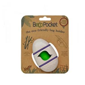 Beco Pocket Poepzakhouder - Wit