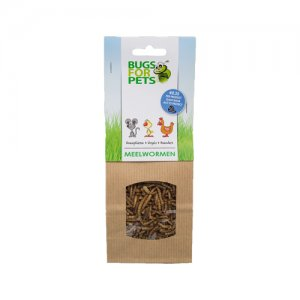 BugsforPets Meelwormen - 35 g