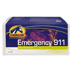 Cavalor Emergency 911 - 12 x 80 ml
