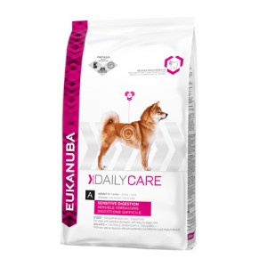 Eukanuba Sensitive Digestion - Daily Care - Hond - 12,5 kg