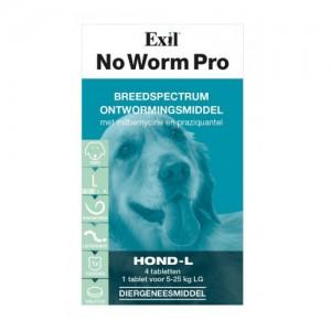 No Worm Pro Hond - 4 tabletten