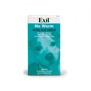 Exitel Plus Hond (voorheen Hond -M) - 8 tabletten