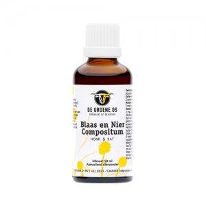 Groene Os Blaas-Nier Compositum - Hond/Kat - 50 ml