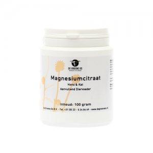Groene Os Magnesiumcitraat - Hond/Kat - 100 g