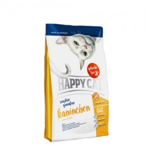 Happy Cat - Sensitive Grainfree Kaninchen - 300 g