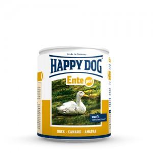 Happy Dog Ente Pur - eendenvlees - 6x800g