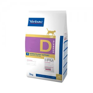 HPM Veterinary Dietetic Cat - Dermato 3 kg