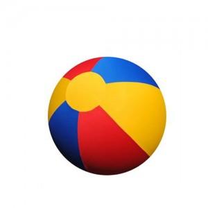 Jolly Mega Ball Cover (40 inch) 100 cm blauw/ rood./ geel